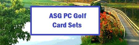 ASG PC Golf Card Sets