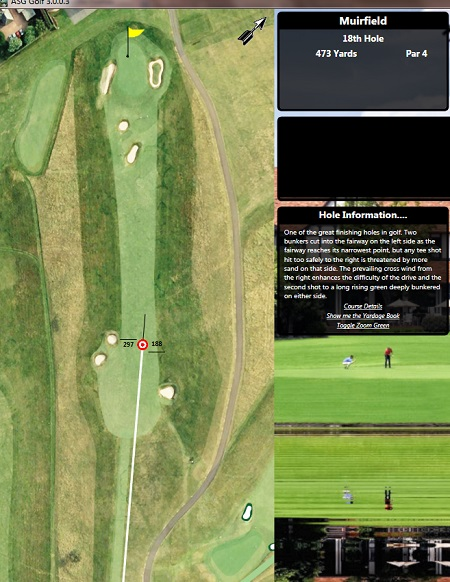 Muirfield V3 Hole 2