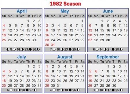 1982 Season