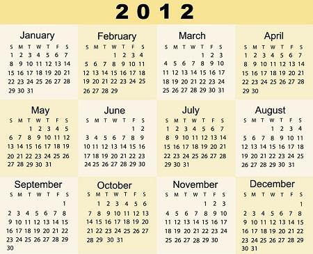 ASG 2012 Season
