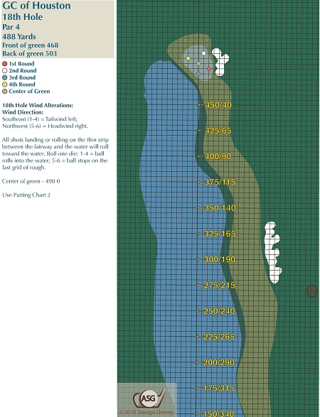 Golf Club of Houston Board Course