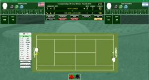 Time Travel Tennis Match
