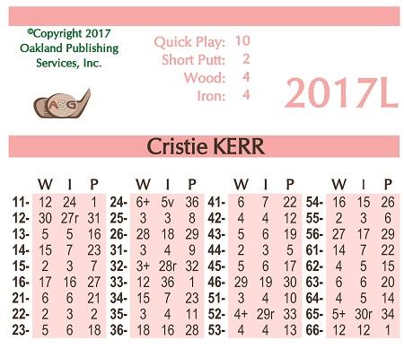 ASG 2017 Ladies Card Set